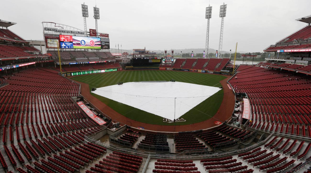 Home Run Derby rain weather status