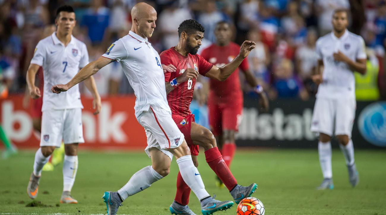 Michael Bradley scored the equalizer for the USA against Panama in the Gold Cup on Tuesday.