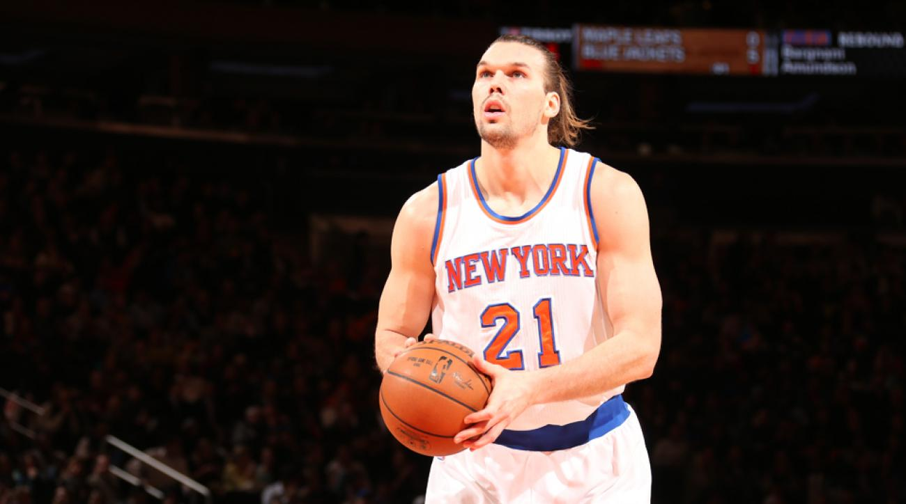 New York Knicks sign Lou Amundson