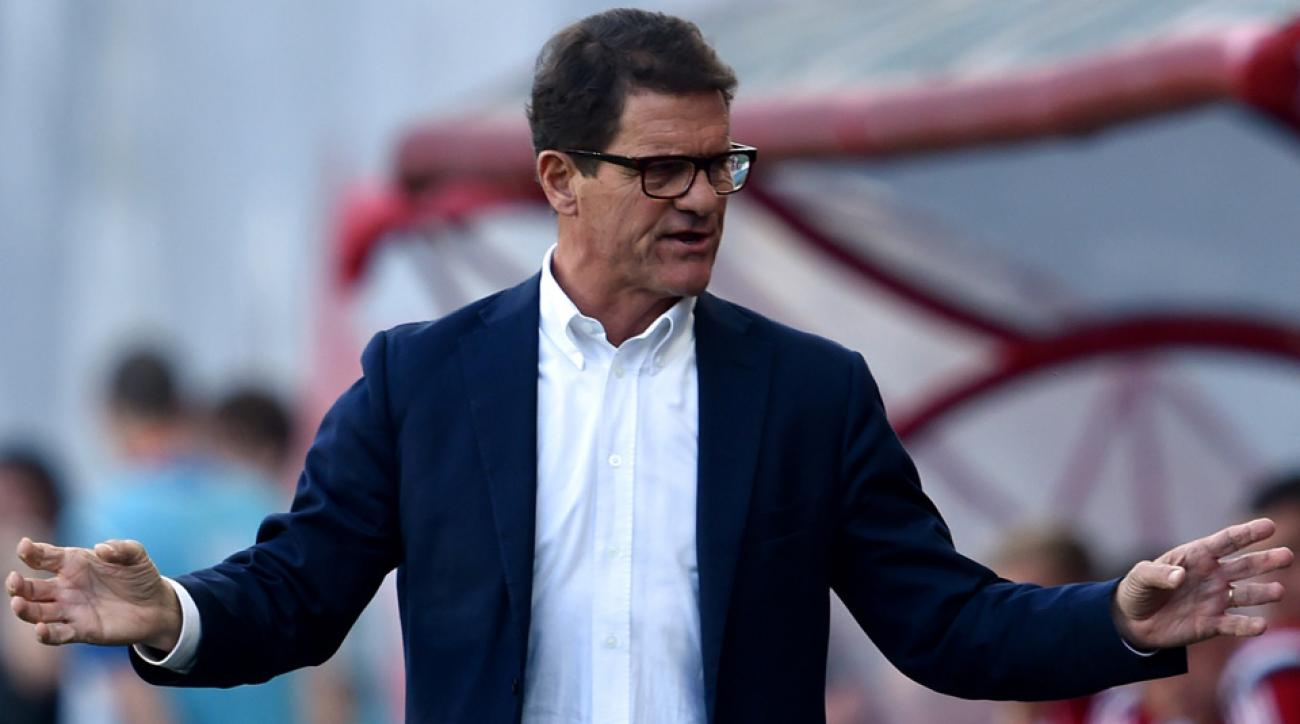 Fabio Capello is out as Russia's manager