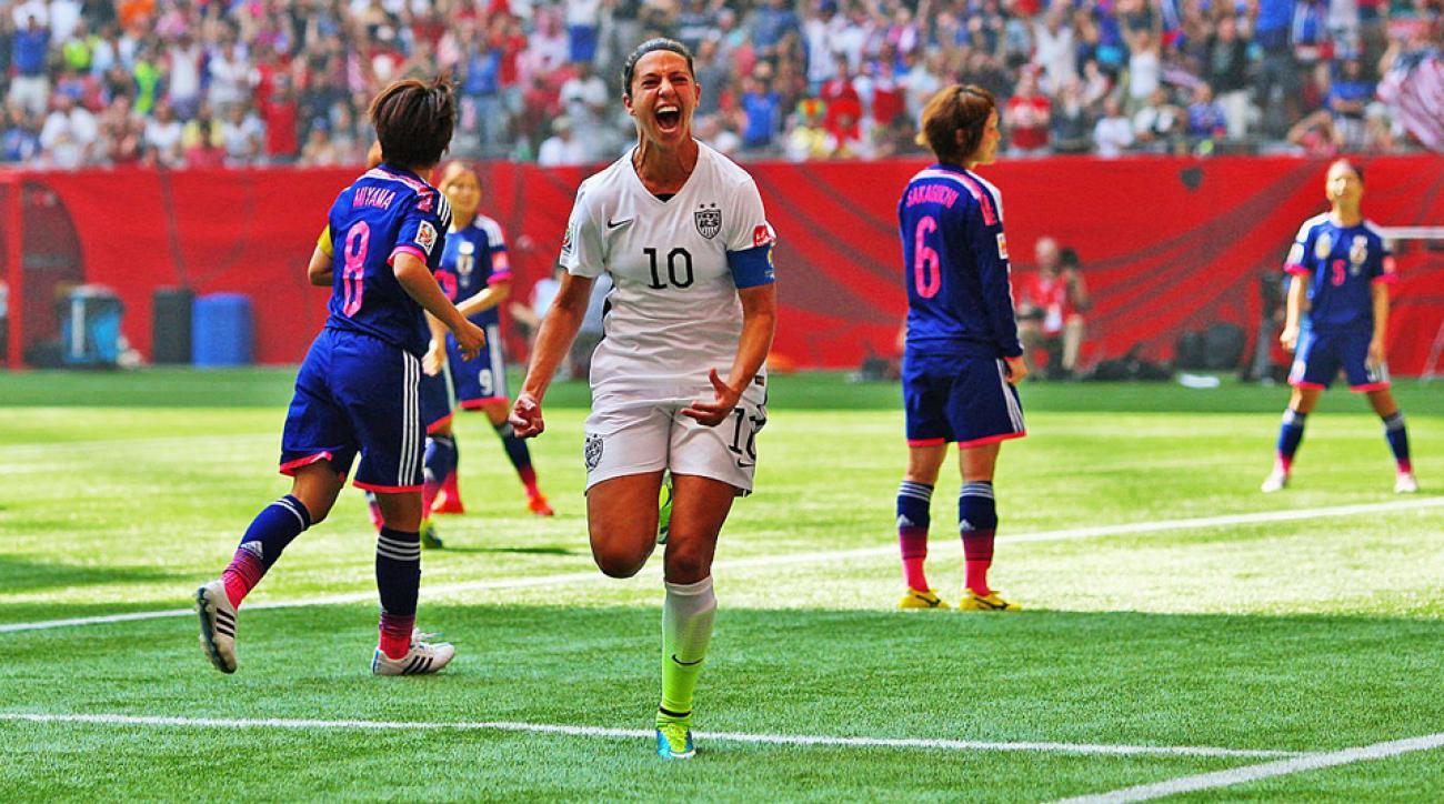 Carli Lloyd Quotes Carli Lloyd Story Of Usa's World Cup Final Star's Stunning Goal