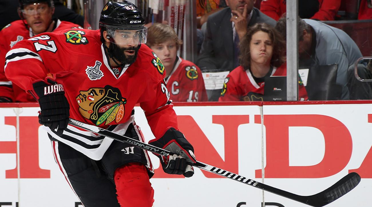 johnny oduya free agent contract leaves chicago blackhawks