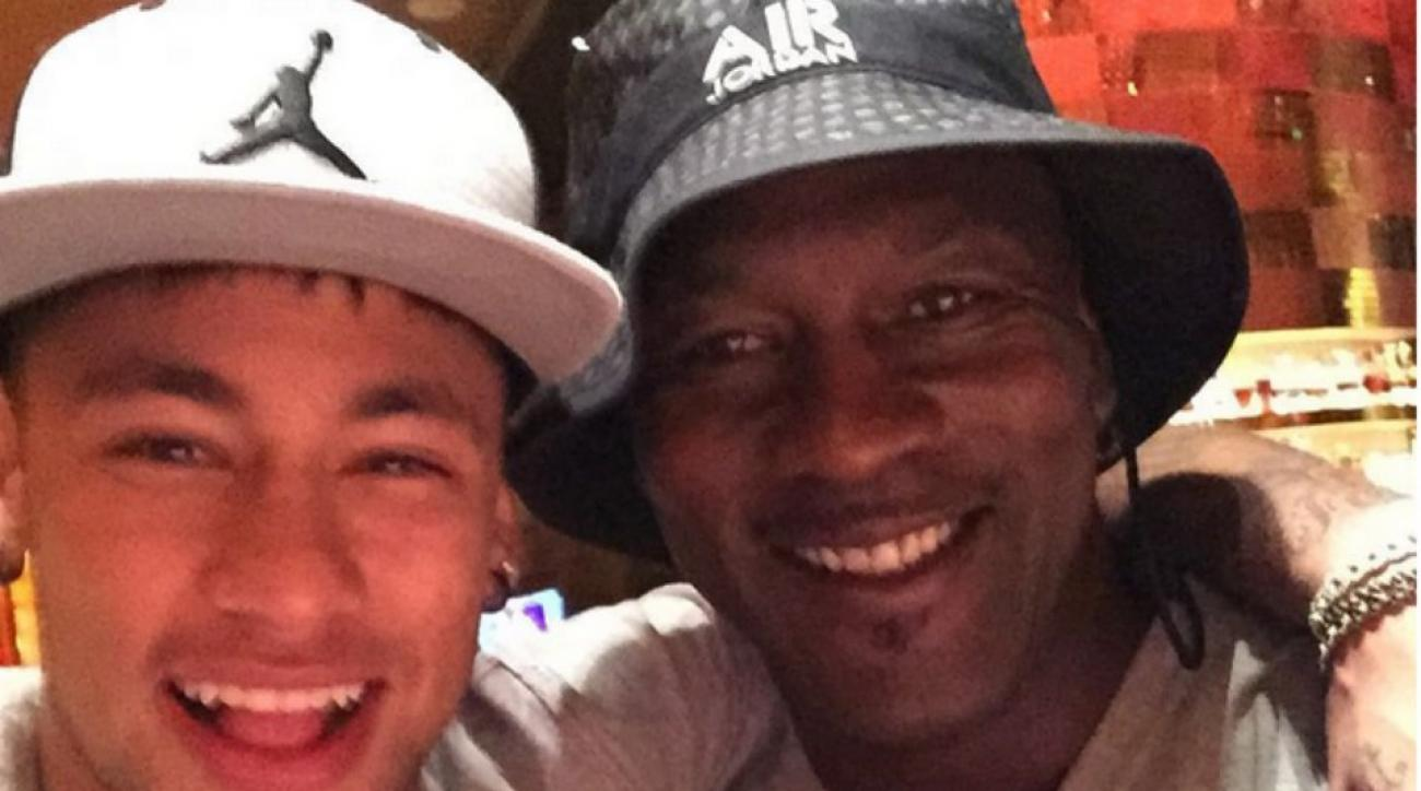Michael Jordan, Neymar hang out in Las Vegas