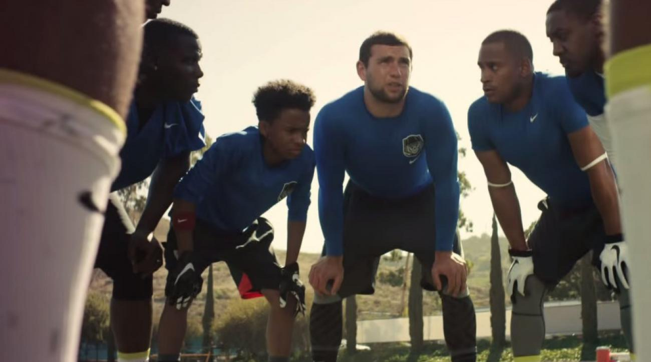 Nike ad feature Mike Trout, Andrew Luck, Anthony Davis