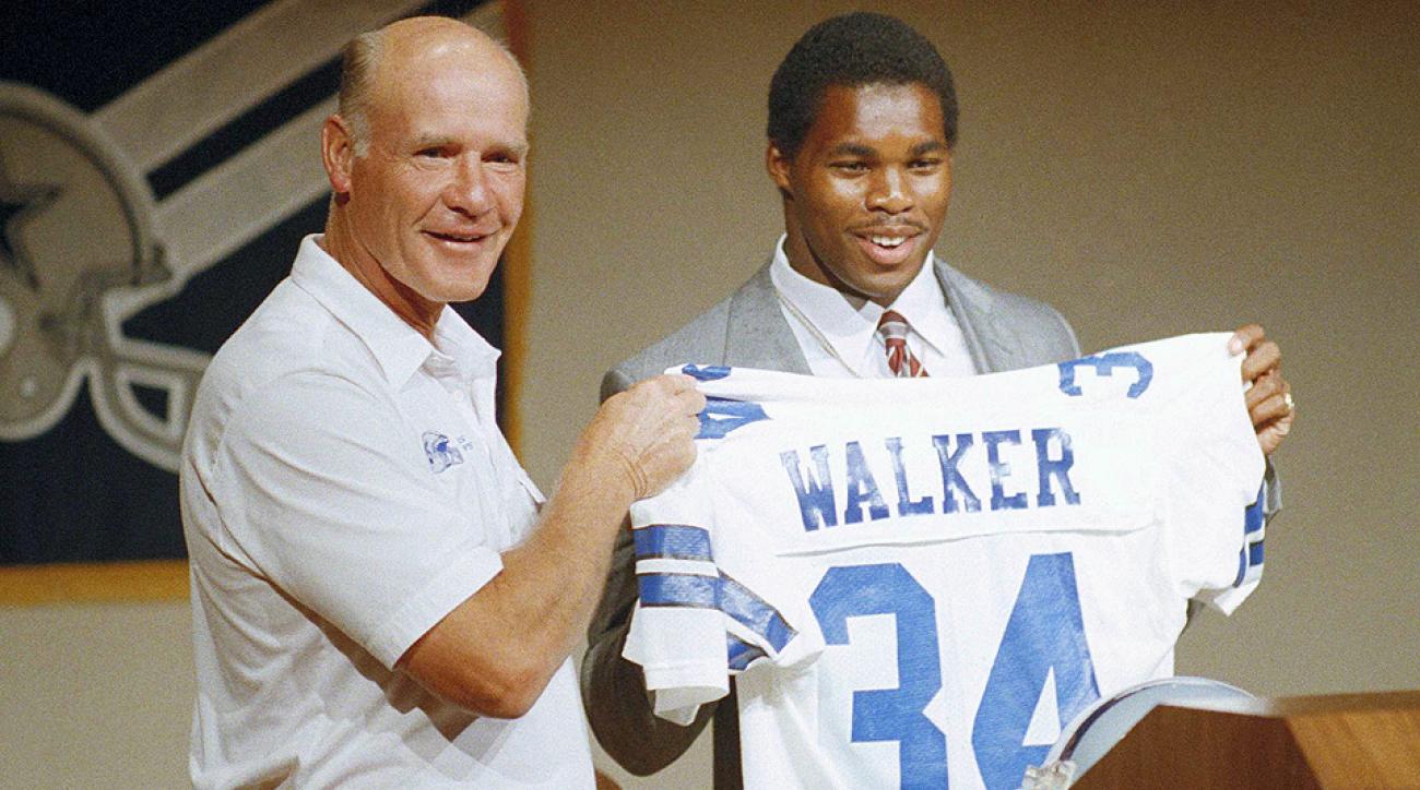 SI Vault: USFL stars Herschel Walker, Doug Flutie, Jim Kelly ponder NFL