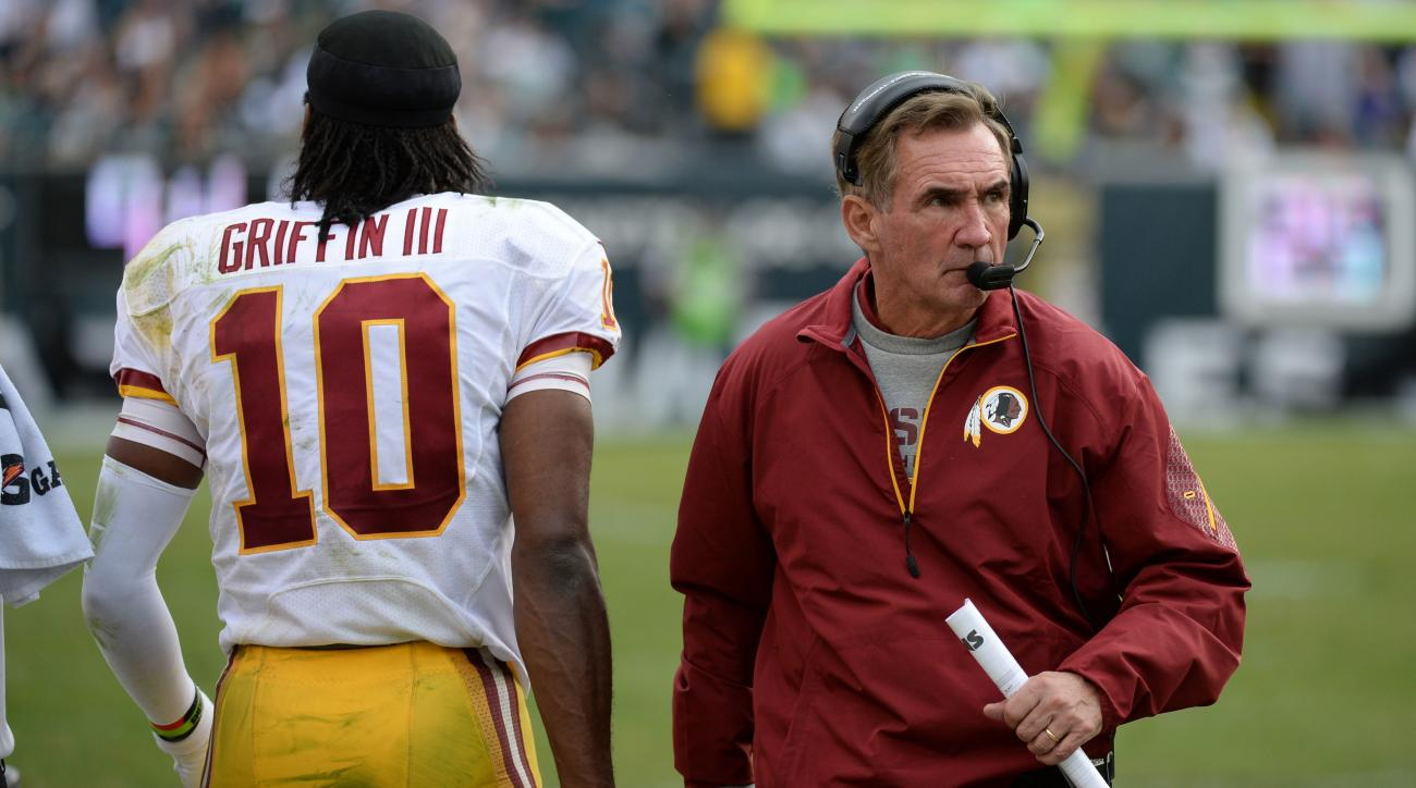 robert griffin mike shanahan redskins offense plays