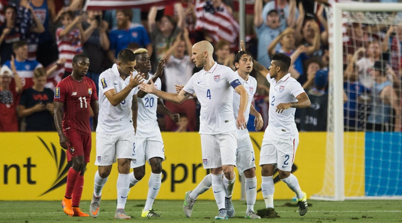 The U.S. men's national team has a favorable path in the 2015 CONCACAF Gold Cup knockout stage