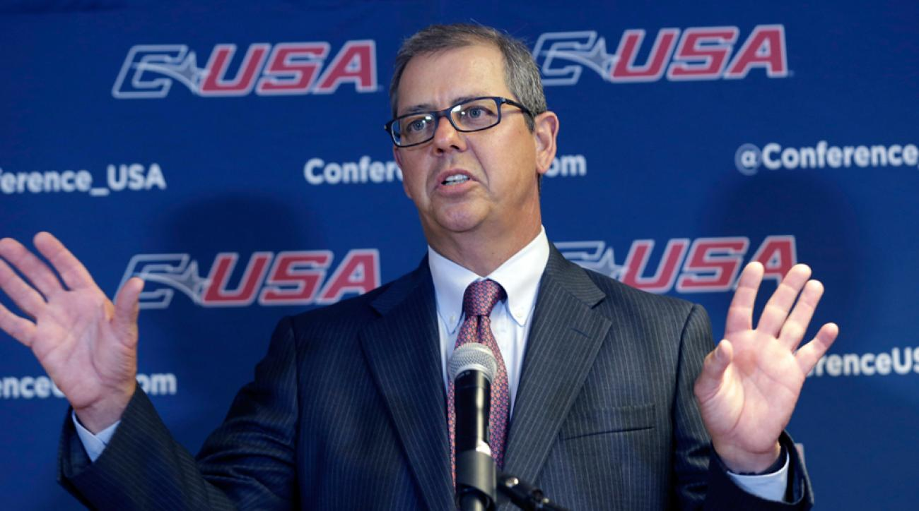 Conference USA Britton Banowsky steps down