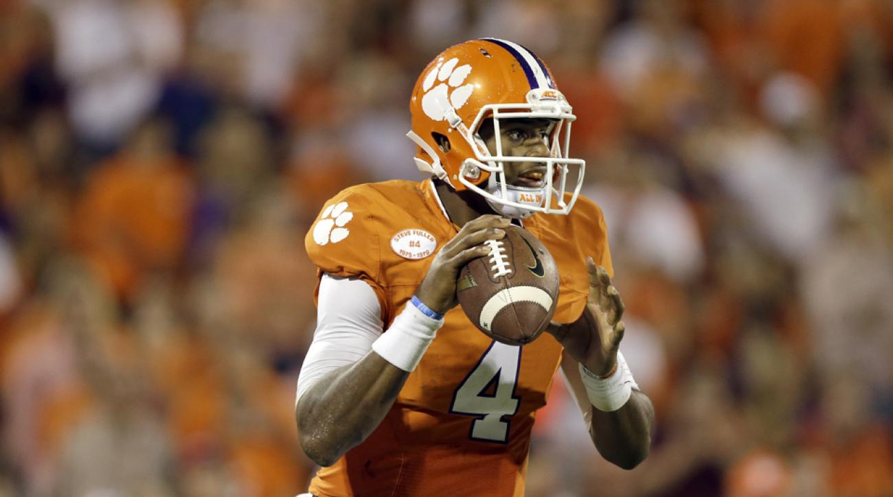 Clemson's Watson cleared to practice