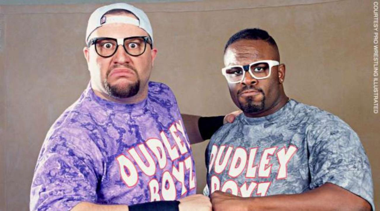 Dudley Boyz WWE tables ladders chairs match