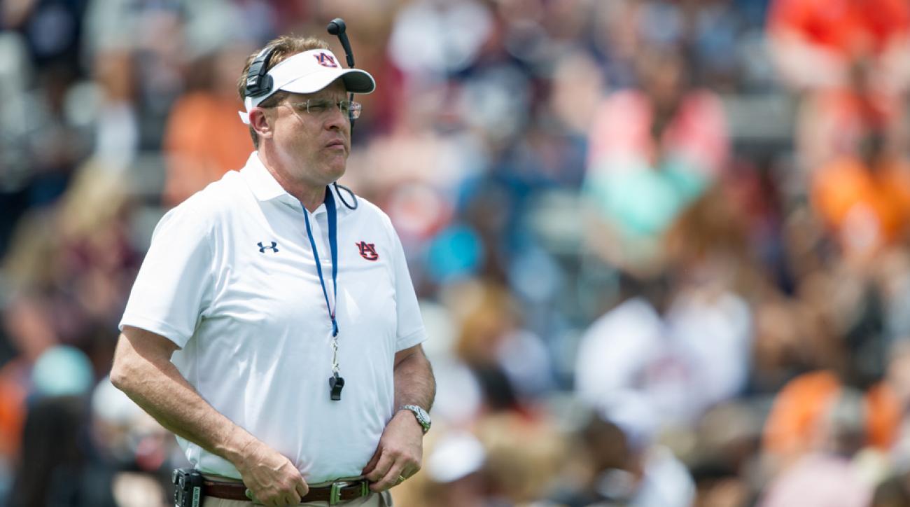 Auburn Gus Malzahn SEC football preseason predictions