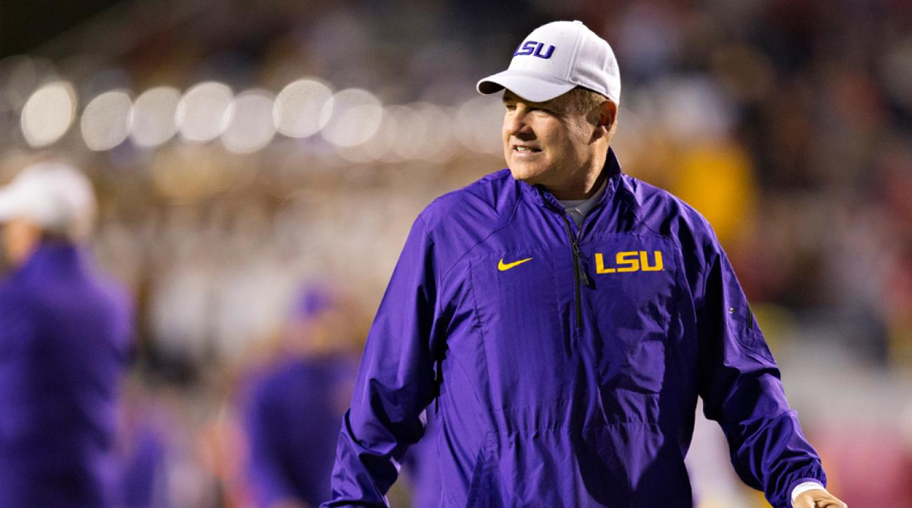 LSU Les Miles responds NFL draft evaluations bowl game