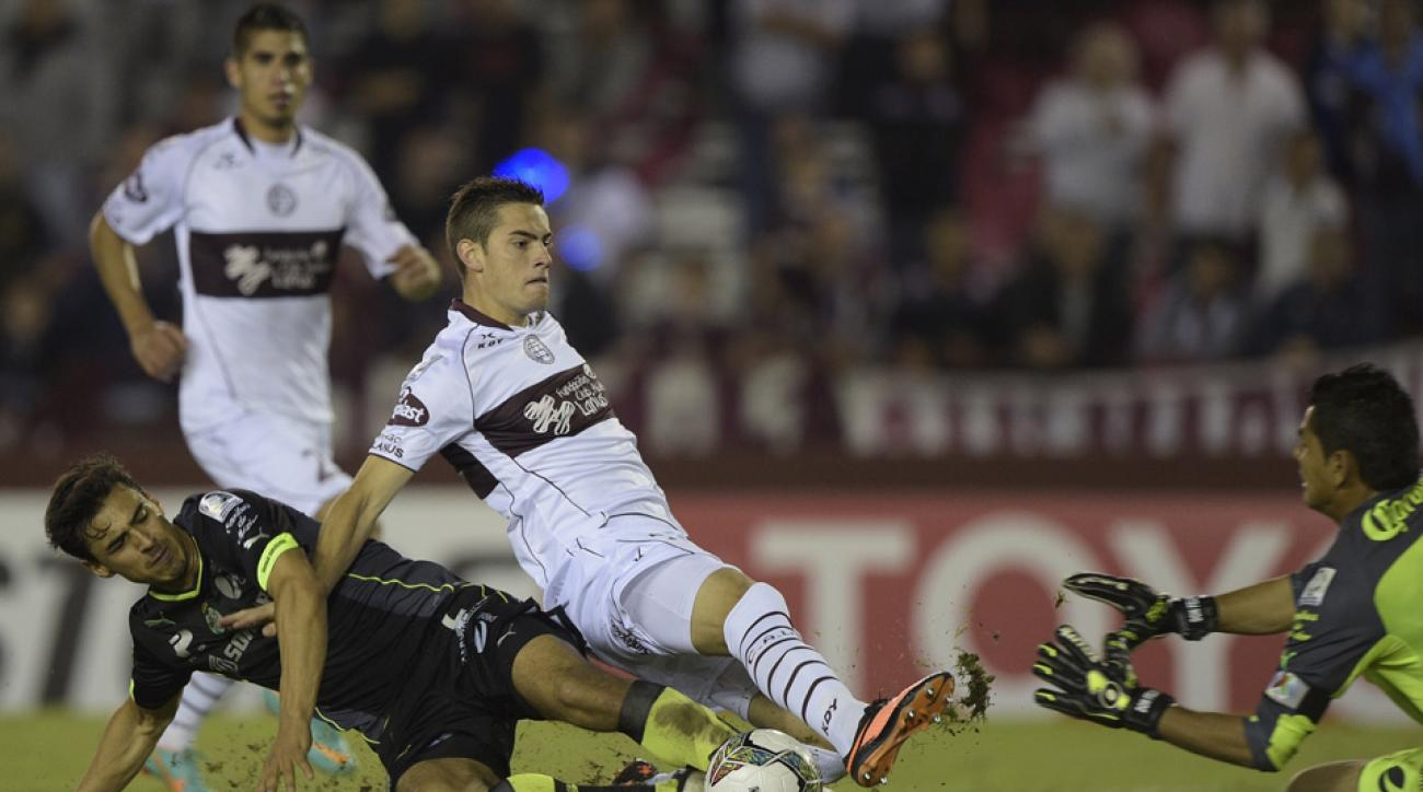 Argentine forward Lucas Melano has signed a DP deal with the Portland Timbers