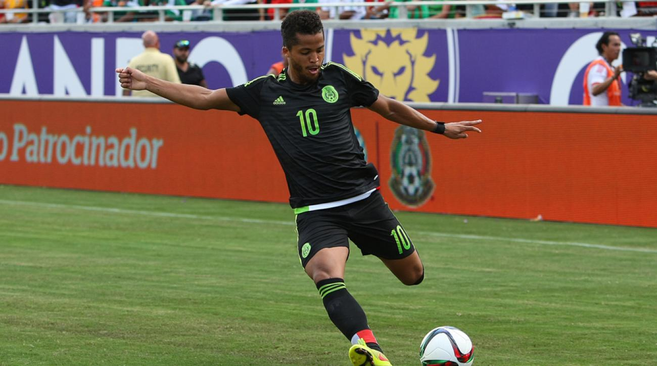 Mexico Gold Cup Giovani dos Santos injury