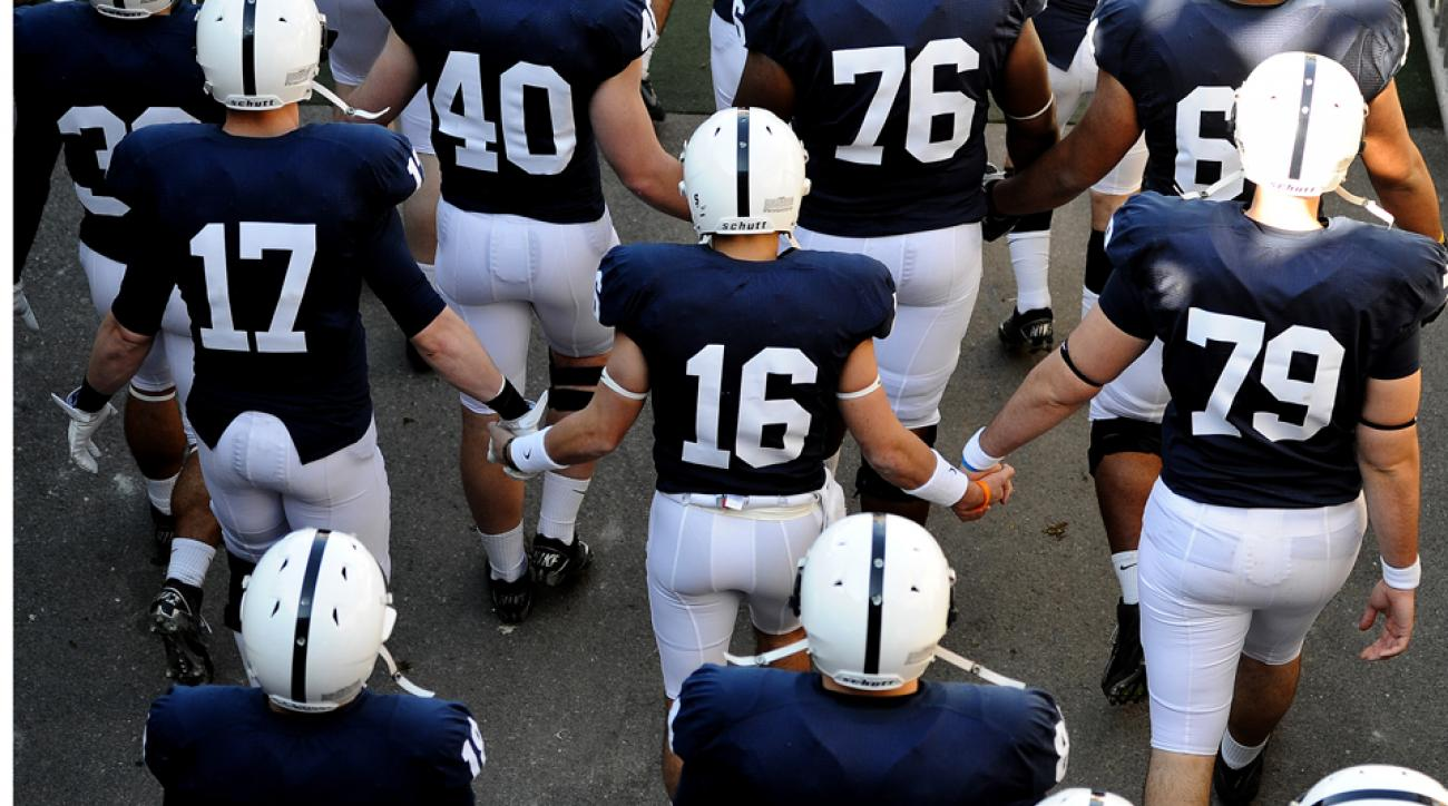 Penn State football removing names from jerseys