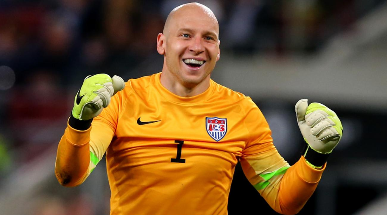 Brad Guzan is finally getting his chance on the grand stage for the U.S. men's national team