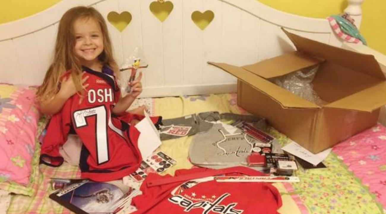 T.J. Oshie sends gift package to Blues fan who cried after he was traded