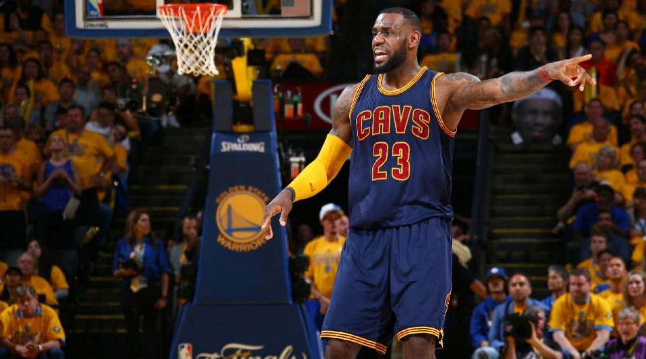 LeBron James Game Worn finals jersey sells for $46,000