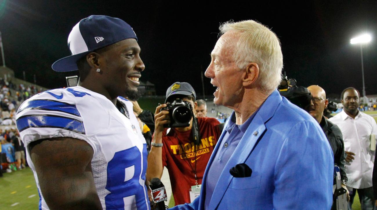 Dallas Cowboys Dez Bryant Jerry Jones contract