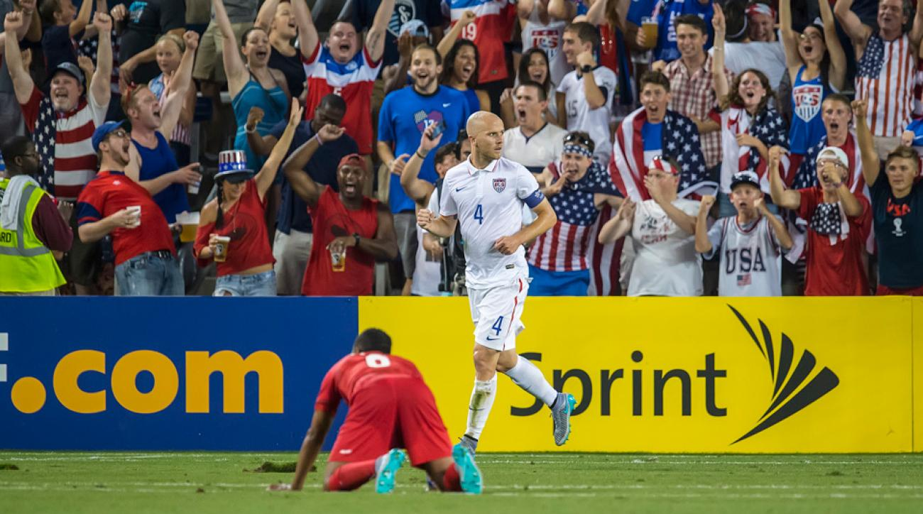Michael Bradley leads the USA vs. Cuba in the CONCACAF Gold Cup quarterfinals