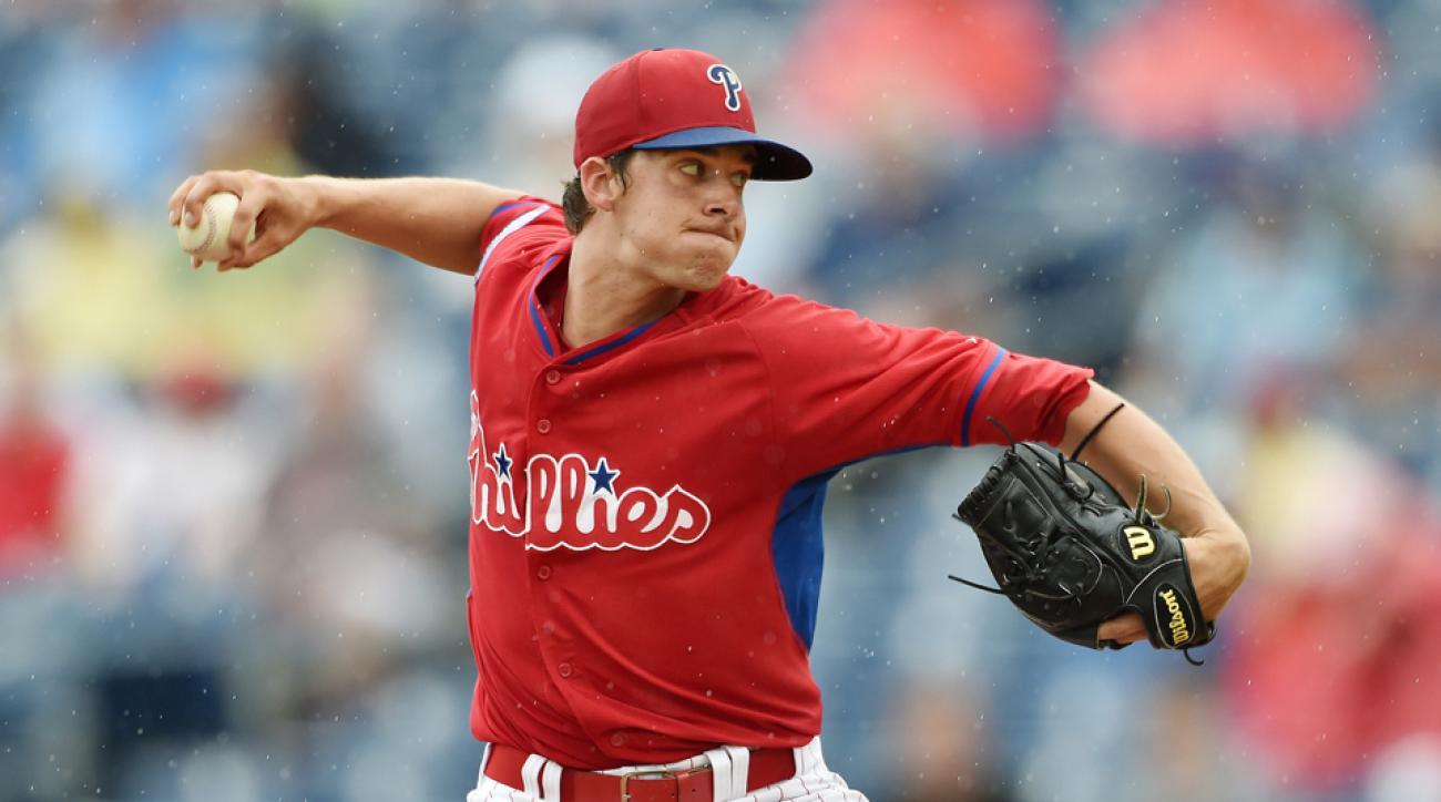 Philadelphia Phillies Aaron Nola called up MLB debut
