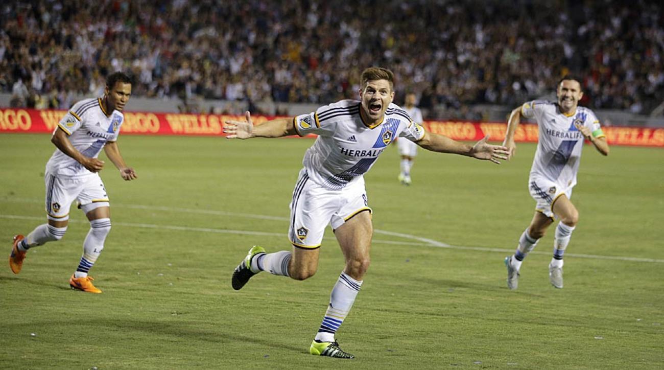 Steven Gerrard, Galaxy