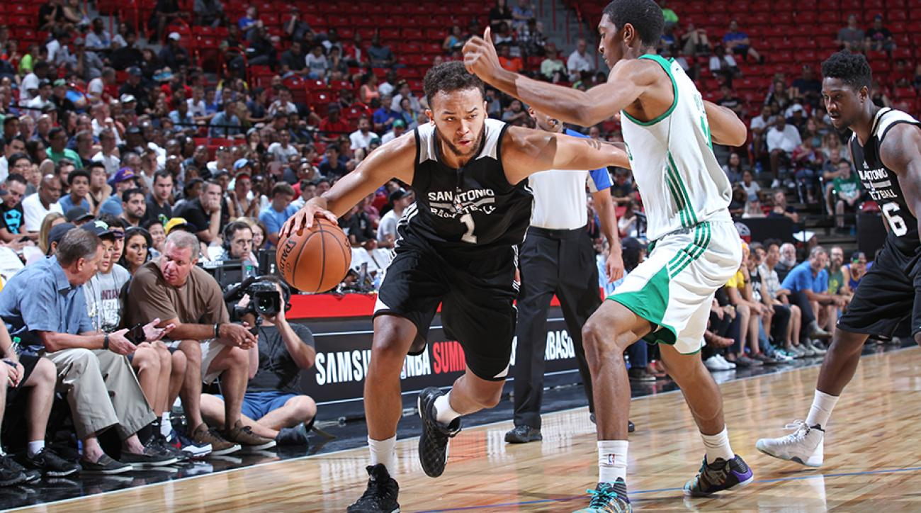 nba summer league mvp kyle anderson spurs