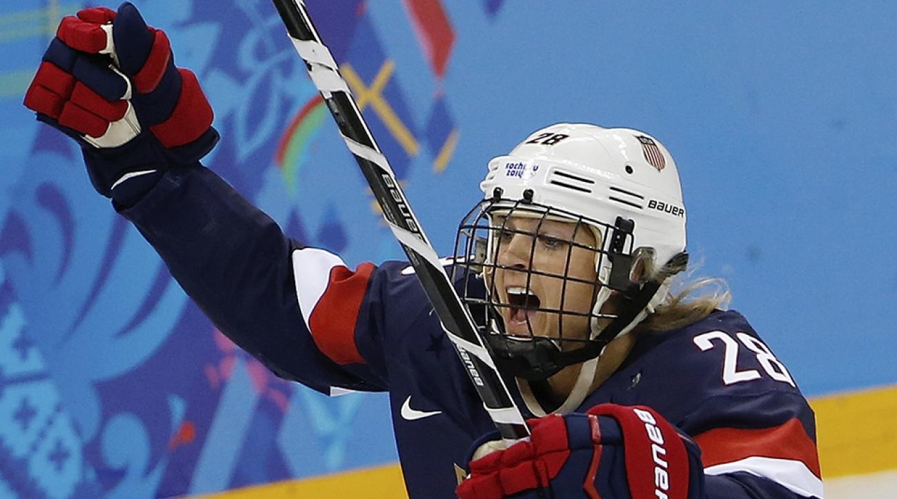 amanda kessel minnesota hockey usa olympics retire concussions