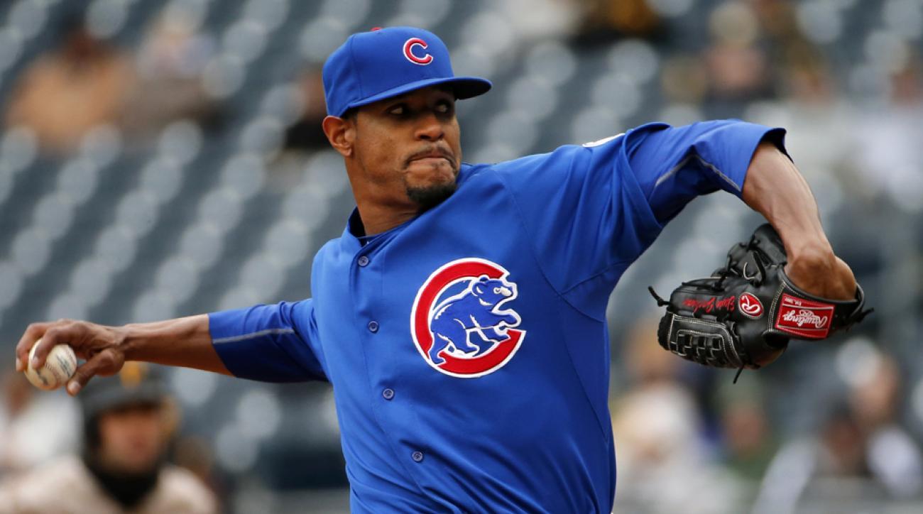 Chicago Cubs pitcher Edwin Jackson DFA'd