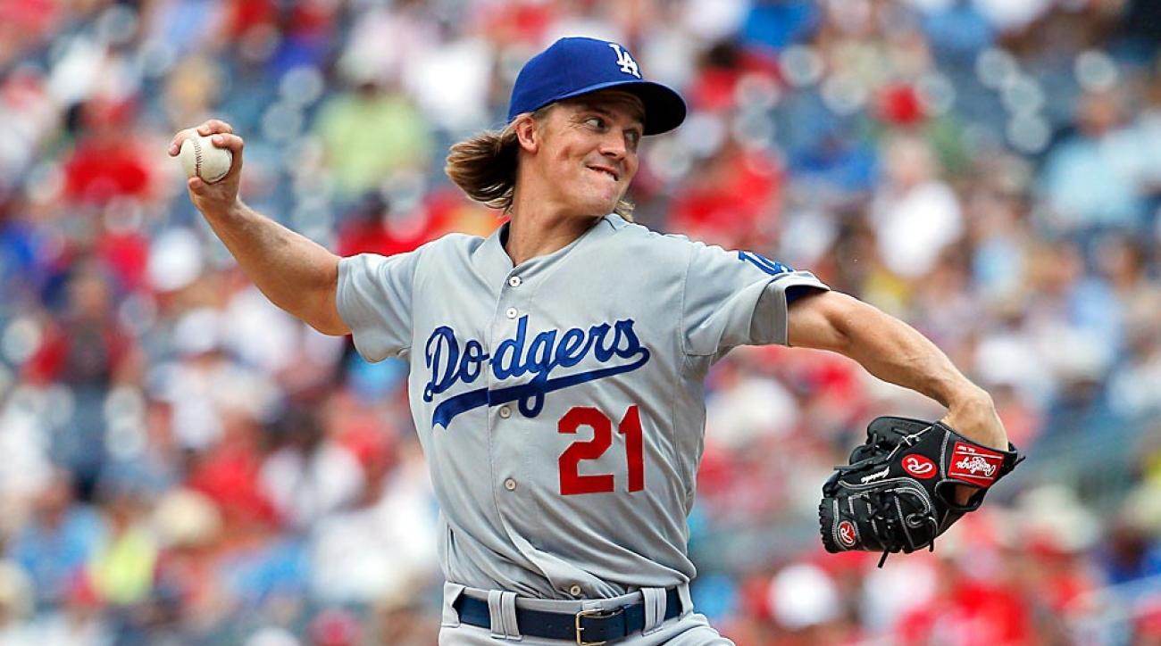 Zack Greinke Dodgers