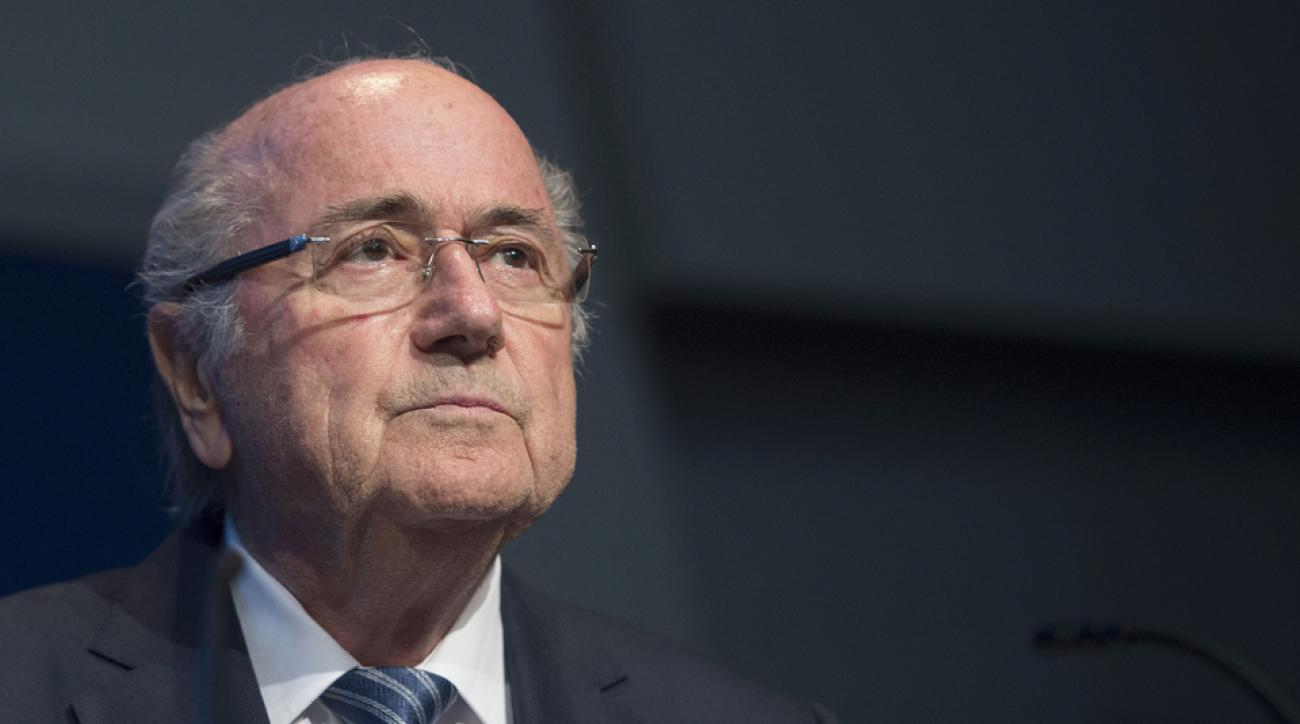 Sepp blatter fifa press conference election corruption bribery scandal