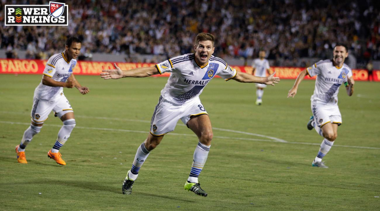 Steven Gerrard enjoyed a fantastic MLS debut with the LA Galaxy.