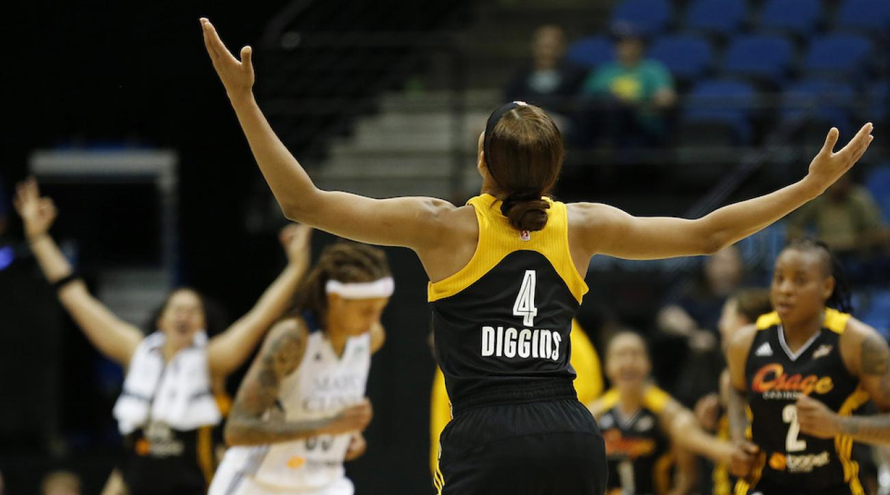 tulsa shock skylar diggins dallas