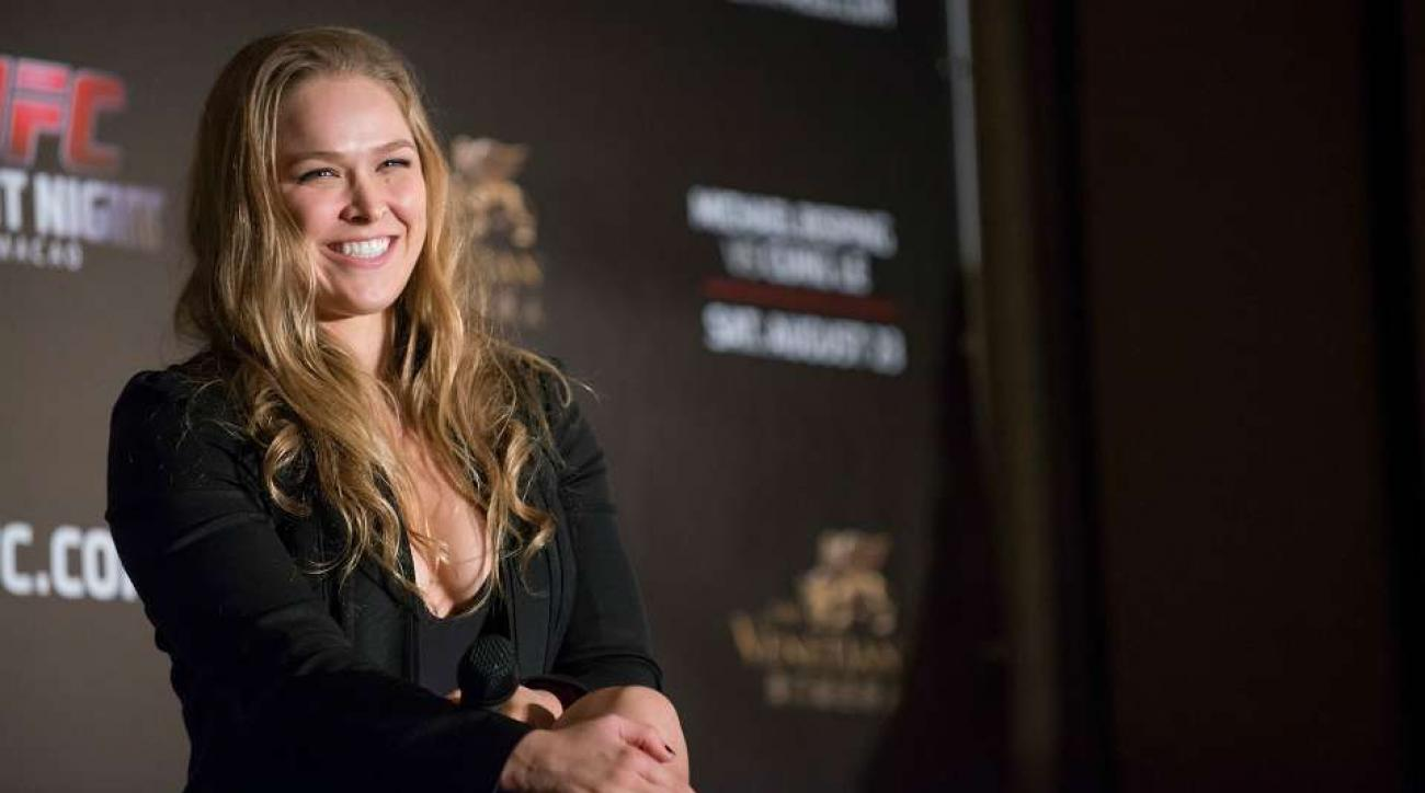 Ronda Rousey has a ticket to every Iowa Cubs game