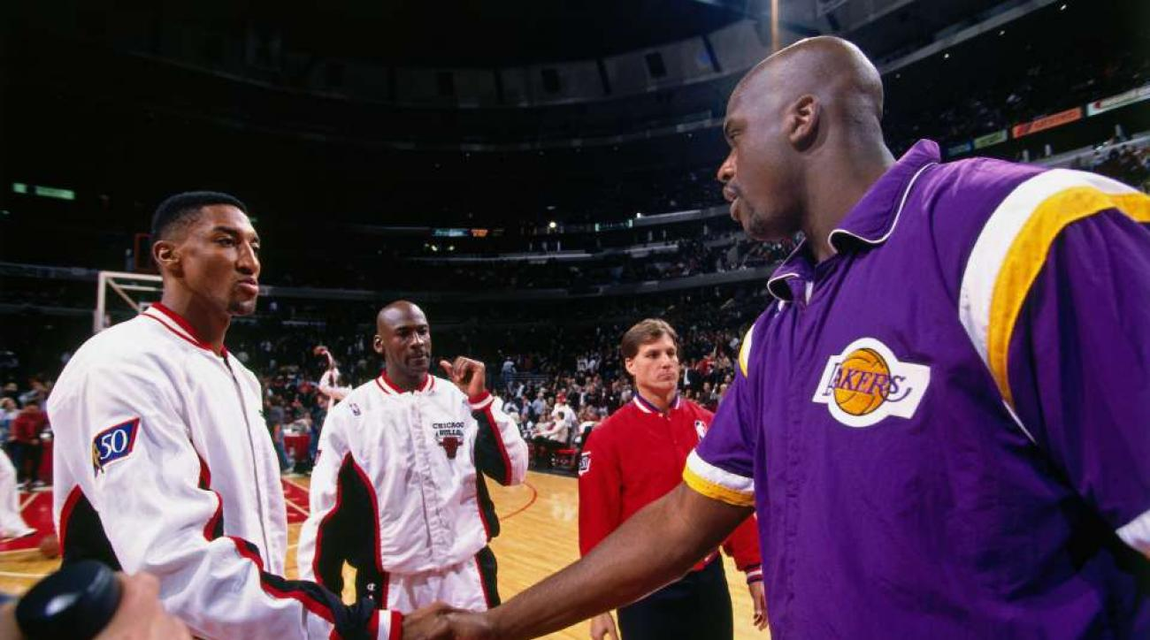 Shaq Scottie Pippen are feuding on Instagram
