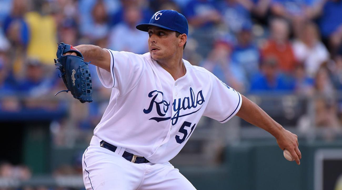 Kansas City Royals Jason Vargas return injury