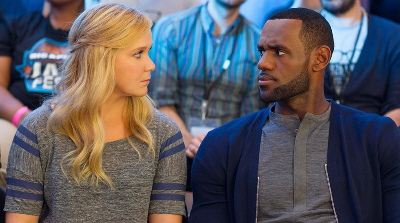 lebron james trainwreck acting comedy reviews
