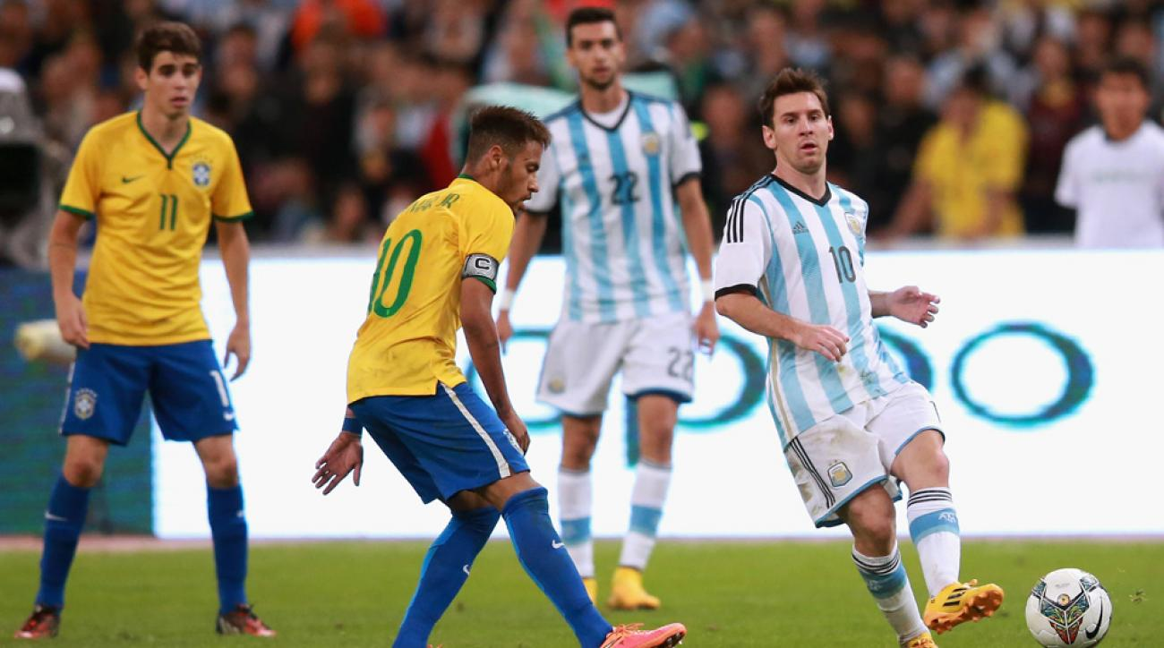 Argentina, Brazil have a proposed friendly in the USA canceled amid the FIFA investigation