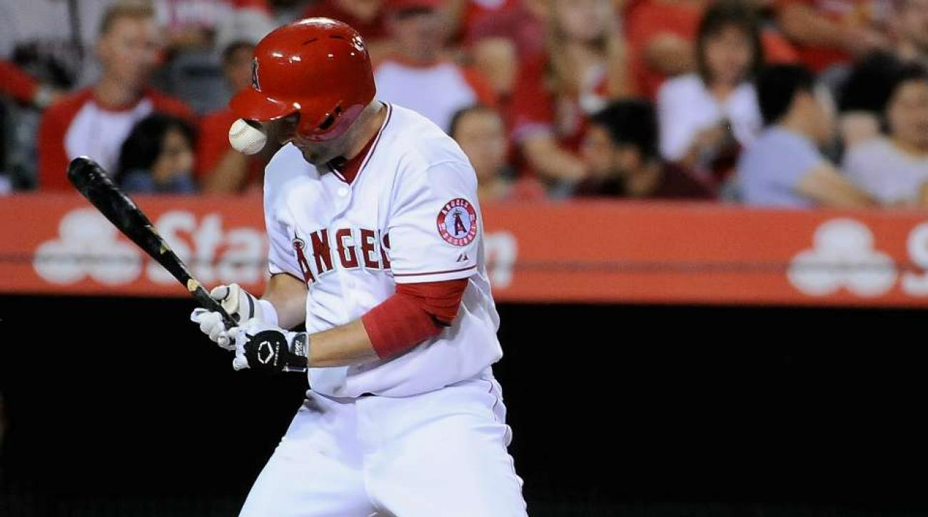 Los Angeles Angels David Freese finger injury out two weeks