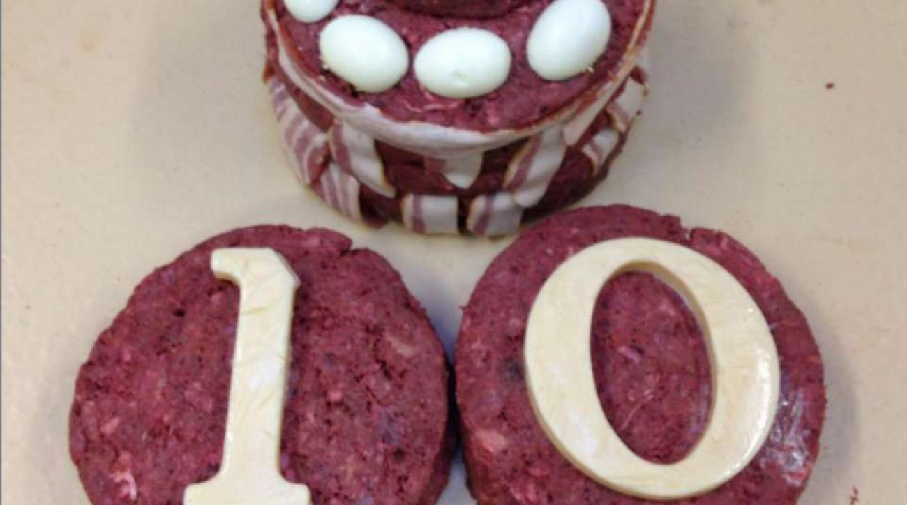 LSU mascot Mike the Tiger is getting a meat cake for his tenth birthday
