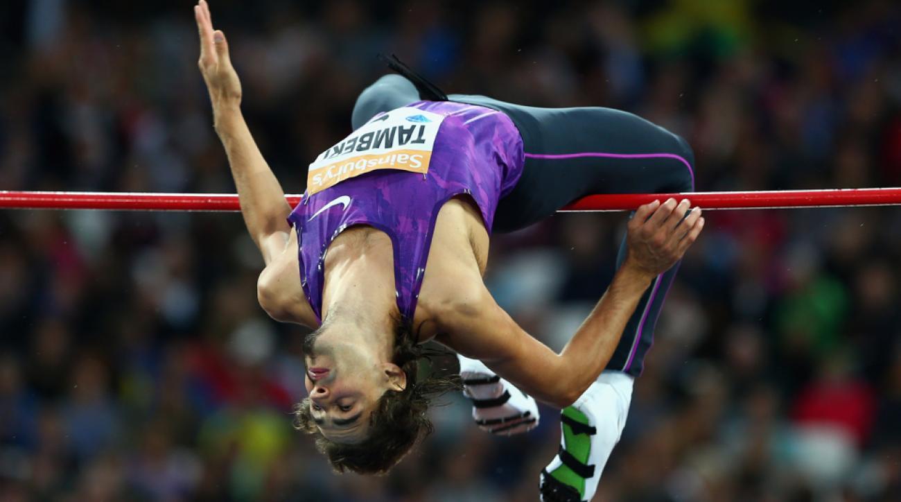 high jumper weirdest beard in sports