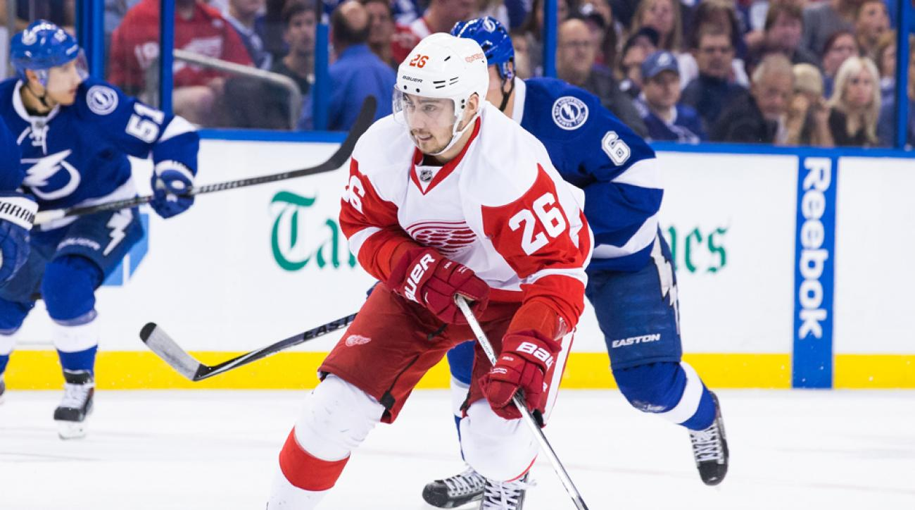 Detroit Red Wings sign Tomas Jurco contract