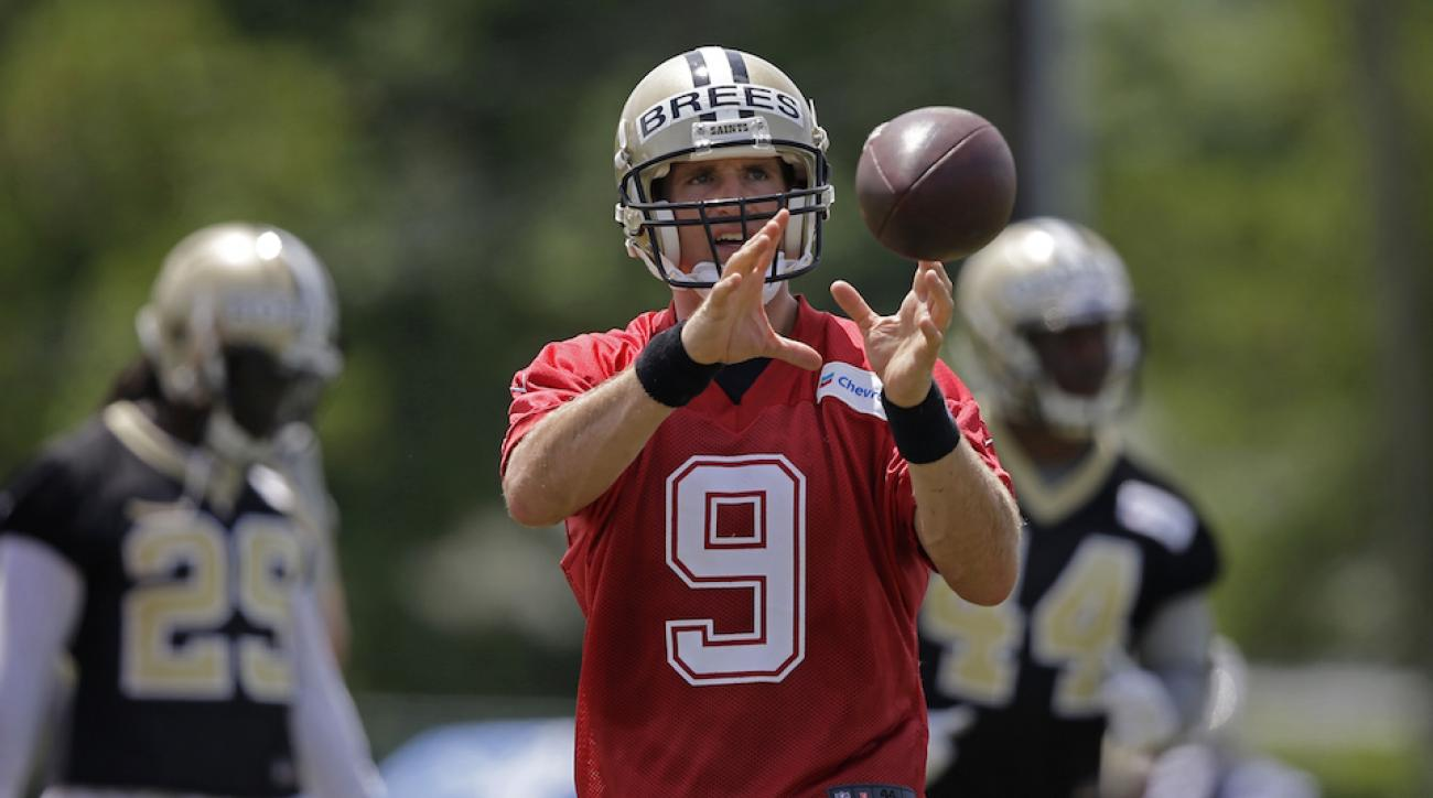 drew brees nfl training camp