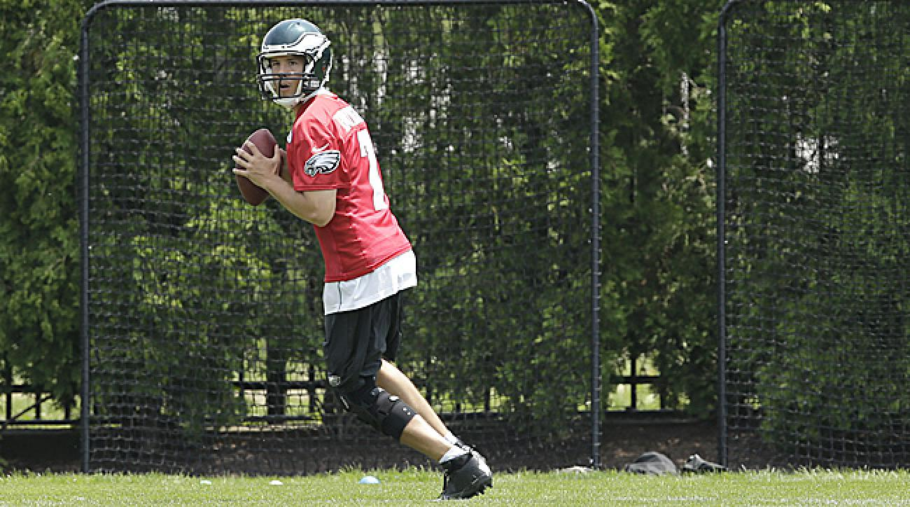 Sam Bradford prepares for his first training camp as Eagles QB