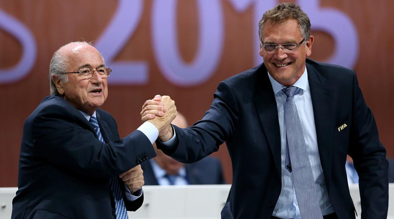 Jerome Valcke expects to leave FIFA when Sepp Blatter does in February
