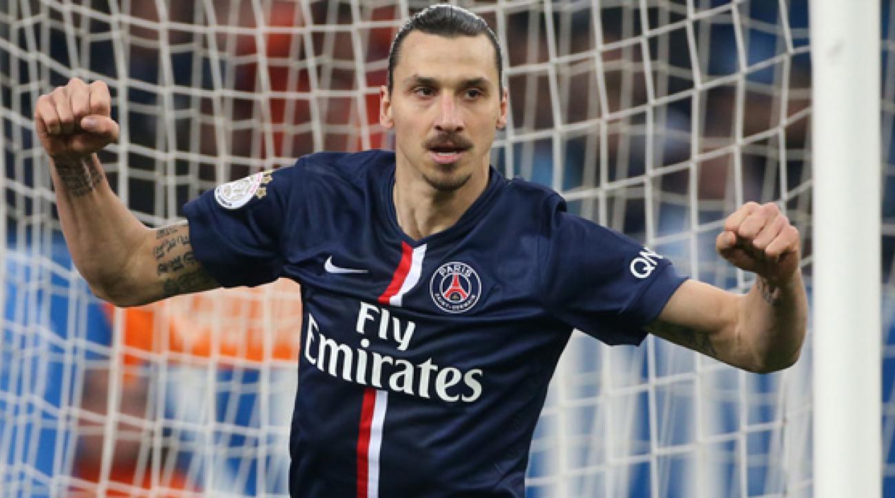 PSG star Zlatan Ibrahimovic
