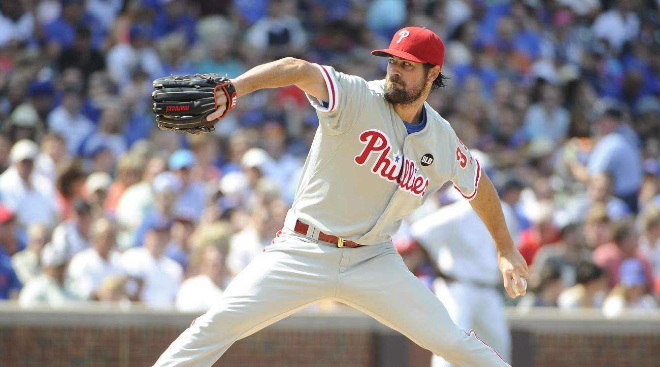 Cole Hamels Philadelphia Phillies MLB trade deadline