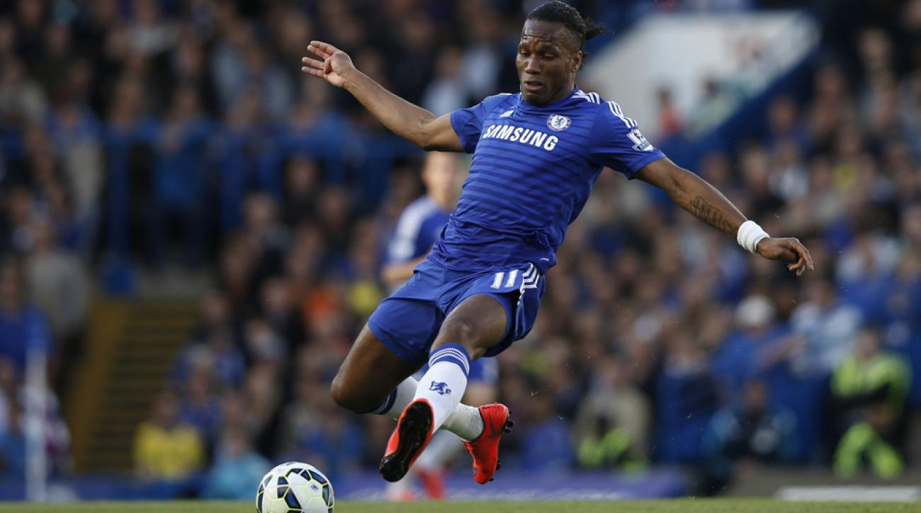 Didier Drogba chelsea mls rights montreal impact chicago fire