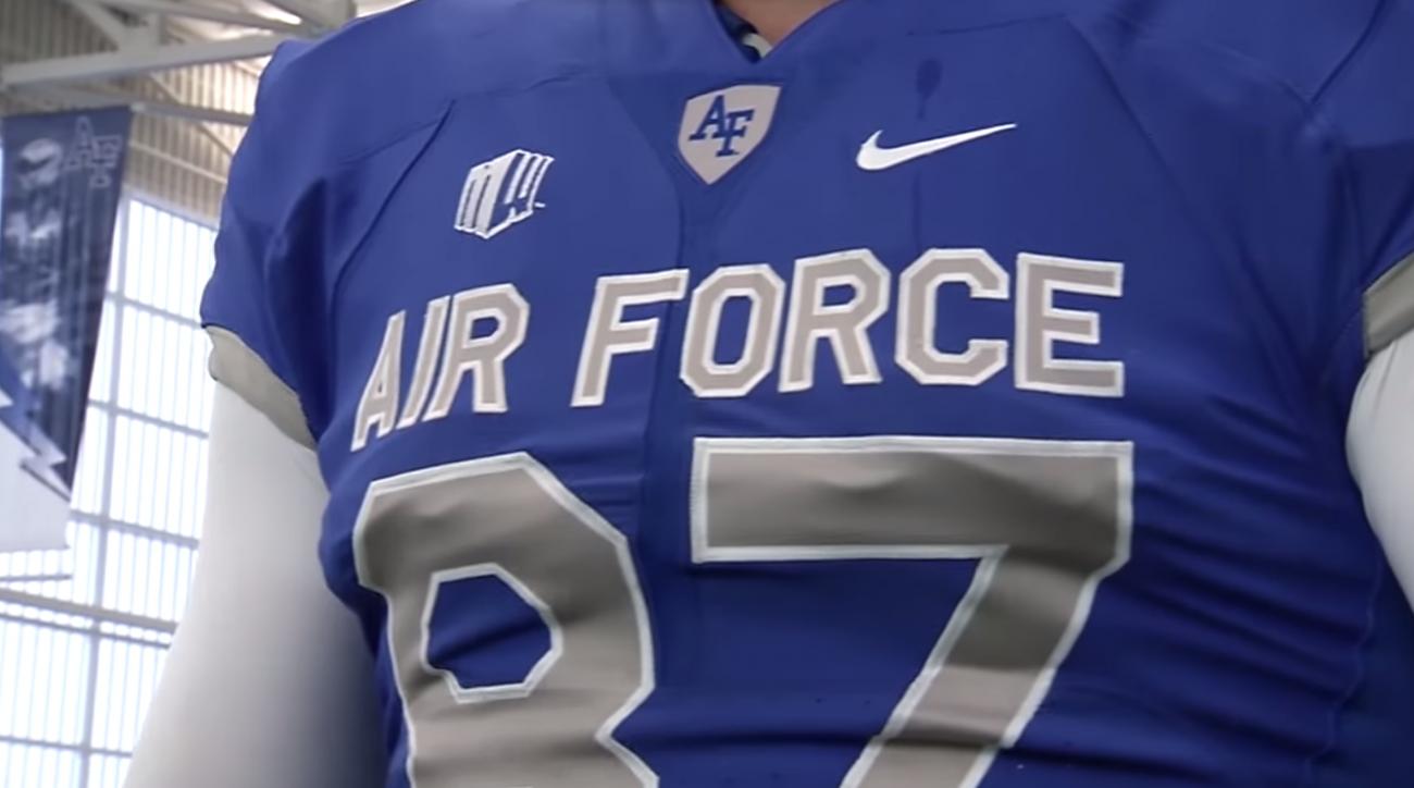 air force falcons football new uniforms jerseys