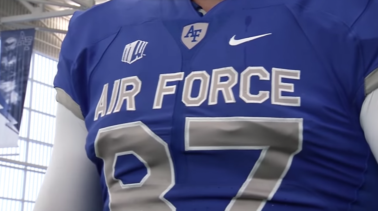 Air Force football unveils new Nike Pro Combat uniforms  38bd99f415ed